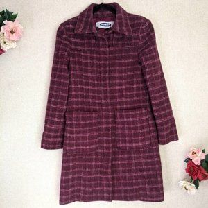 Old Navy Soft Patch Pocket Cocoon Coat Size S